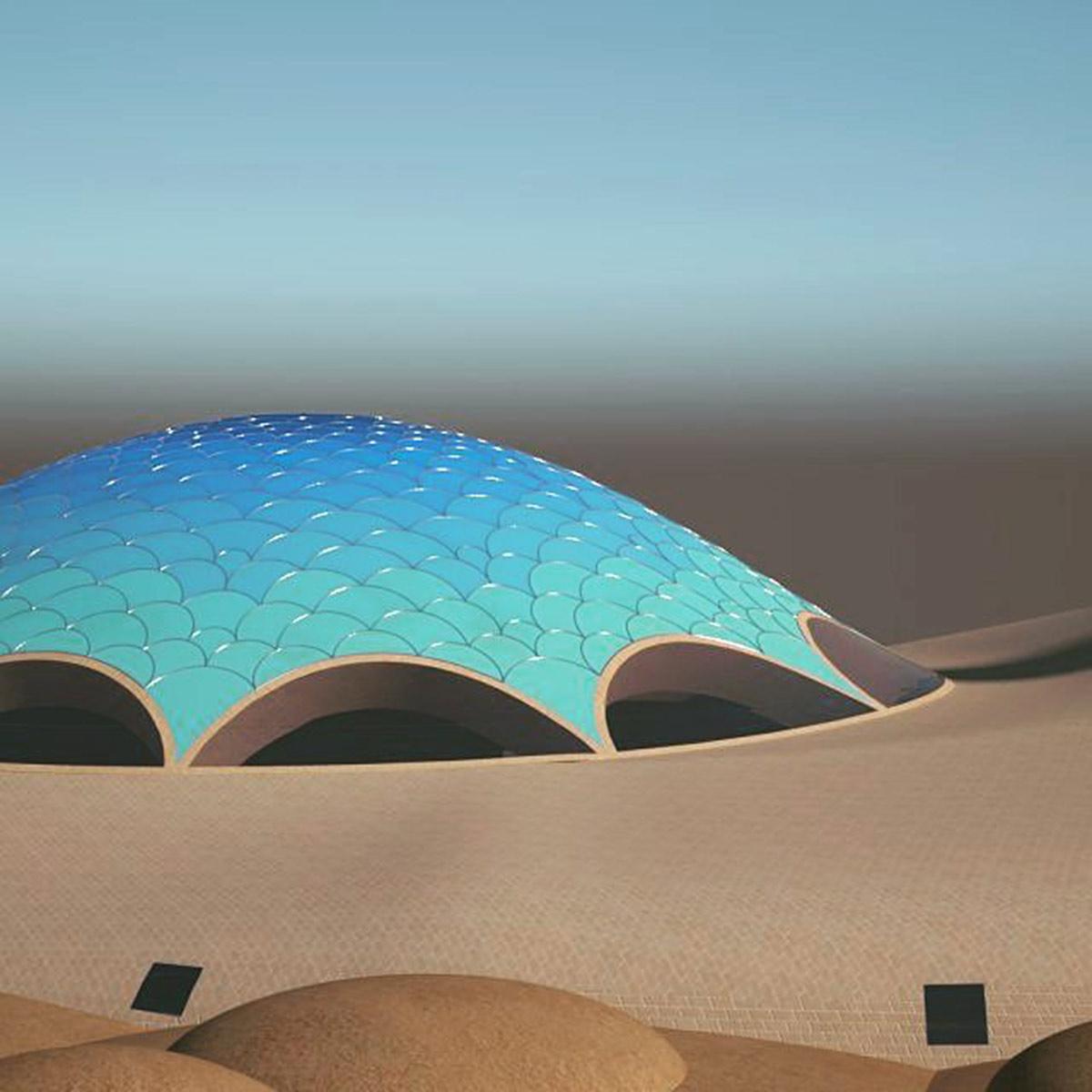 Sci-Fi Mosque