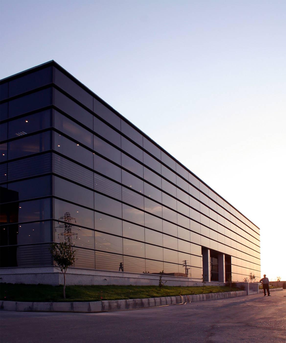 Venus Glass Office Building
